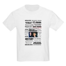 Obama: The 44th President Hea T-Shirt