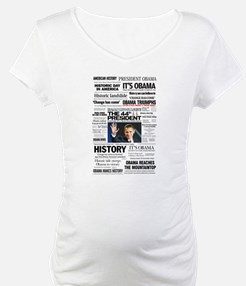 Obama: The 44th President Hea Shirt