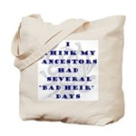 Genealogy Heirs Tote Bag