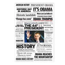 Obama: The 44th President Hea Postcards (Package o