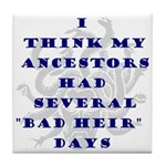 Genealogy Heirs Tile Coaster