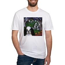 JAPANESE CHIN halloween grave Shirt