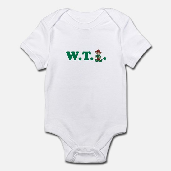 What the Elf? Infant Bodysuit