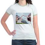 Creation/Maltese + Poodle Jr. Ringer T-Shirt