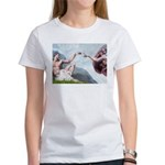 Creation/Maltese + Poodle Women's T-Shirt