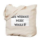 French horn Totes & Shopping Bags