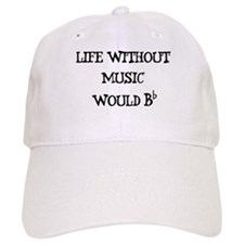 Life Without Music... Baseball Cap