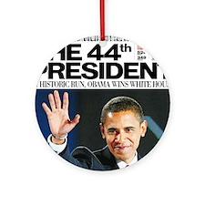 Obama: The 44th President Ornament (Round)