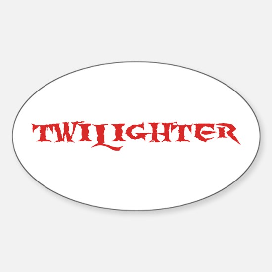Twilighter Oval Decal