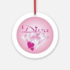 Diva Ornament (Round)