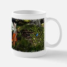 Fairy on a Mushroom Design 1 Mug