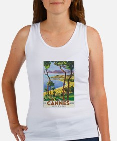 Cannes France Women's Tank Top