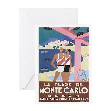 Monte Carlo Monaco Greeting Card