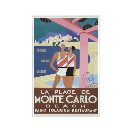 Monte Carlo Monaco Rectangle Magnet (100 pack)