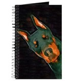Dobermann pinscher Journals & Spiral Notebooks
