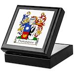 Protopopov Family Crest Keepsake Box