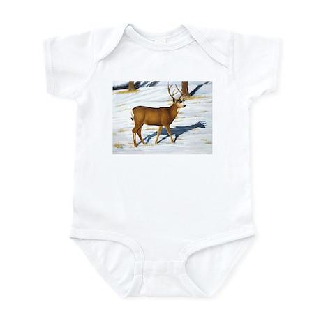 Mule Deer Buck Infant Bodysuit