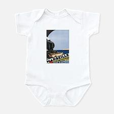 Marseille France Infant Bodysuit