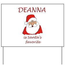 Deanna Christmas Yard Sign