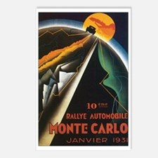 Monte Carlo Monaco Postcards (Package of 8)