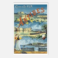 Antibes France Postcards (Package of 8)