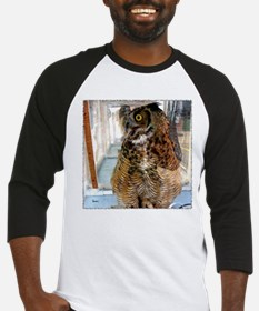 Pax, Great Horned Owl Baseball Jersey