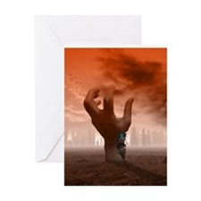 Android Revolt Greeting Card
