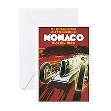 Monaco Grand Prix Greeting Card
