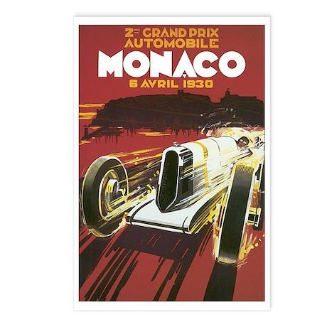 Monaco Grand Prix Postcards (Package of 8)