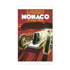 Monaco Grand Prix Rectangle Decal