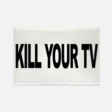 Kill Your TV (L) Rectangle Magnet (10 pack)