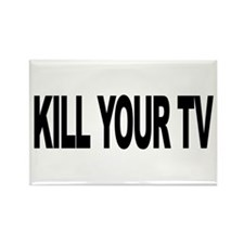 Kill Your TV (L) Rectangle Magnet (100 pack)
