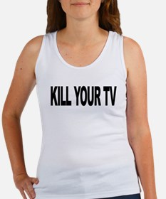 Kill Your TV (L) Women's Tank Top