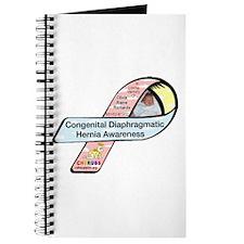 Olivia Raine Richards CDH Awareness Ribbon Journal