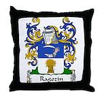Ragozin Family Crest Throw Pillow