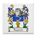 Ragozin Family Crest Tile Coaster