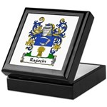 Ragozin Family Crest Keepsake Box
