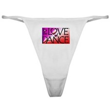For the LOVE of DANCE Classic Thong