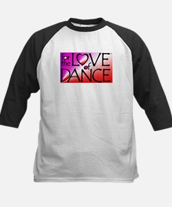 For the LOVE of DANCE Kids Baseball Jersey