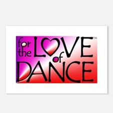 For the LOVE of DANCE Postcards (Package of 8)