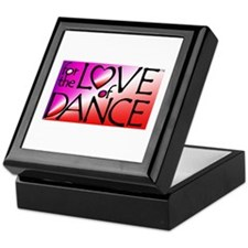 For the LOVE of DANCE Keepsake Box