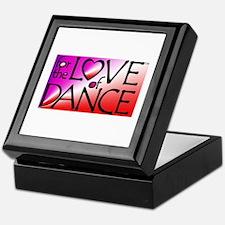 For the LOVE of DANCE Keepsake Box