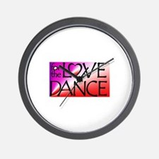 For the LOVE of DANCE Wall Clock