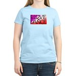 For the LOVE of DANCE Women's Pink T-Shirt