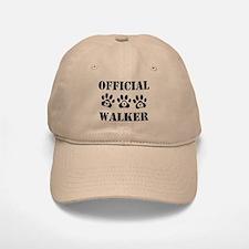Official Dog Walker Baseball Baseball Cap