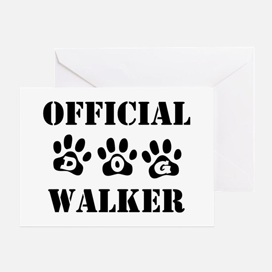 Official Walker Greeting Card