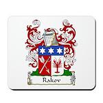 Rakov Family Crest Mousepad
