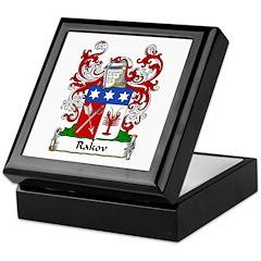 Rakov Family Crest Keepsake Box