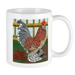 D'Uccle Rooster Mug
