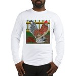D'Uccle Rooster Long Sleeve T-Shirt